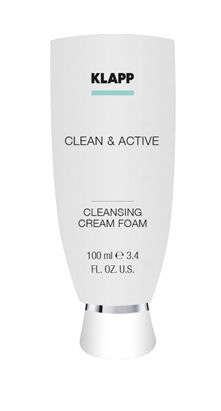 Photo de KLAPP Clean&Active Cleansing Cream Foam 100ml