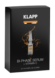 Imagen de KLAPP Power Effect Bi-Phase + Vitamin C Set 3x1ml