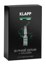 Imagen de KLAPP Power Effect Bi-Phase Serum + Collagen 3x1ml