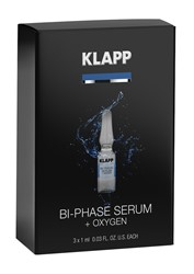 Picture of KLAPP Power-Effect Bi-Phase Serum + Oxygen 3x1ml