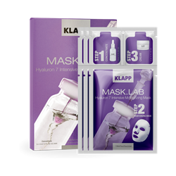 Photo de KLAPP Mask.Lab Hyaluron 7 Intensive Moisturizing Mask 3tlg